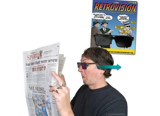 Gafas retrovisión