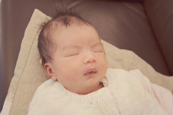 Elizabeth as a baby...