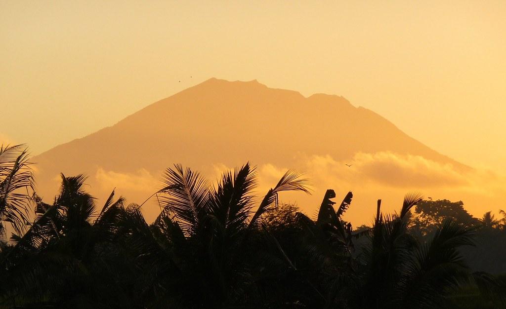 Mt Agung sunrise, Bali