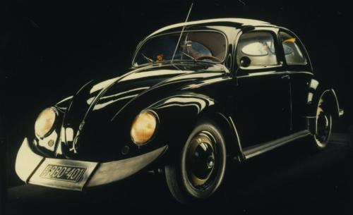 VW Käfer mit Kamei Tiefensteuer
