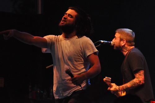 Alexisonfire at Ottawa Bluesfest 2010