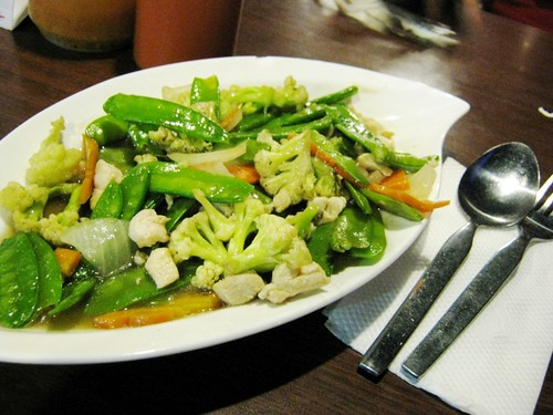 Ayam Cah Kapri (chicken snow peas)