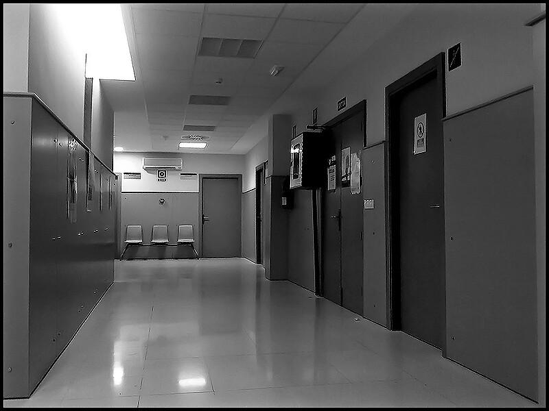 Sala de espera... vacía