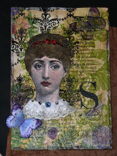 Layered Napkin Collage
