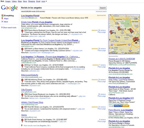 Google - New Local SERP Layout