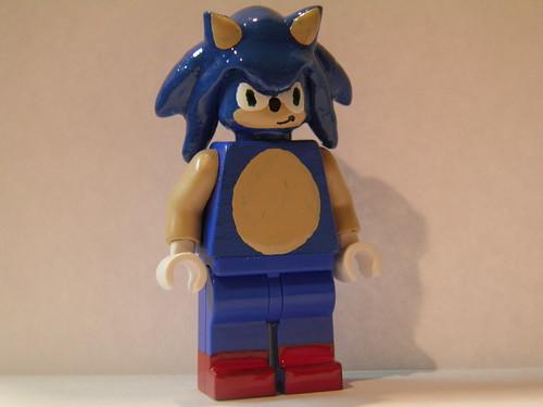 Custom Lego Sonic