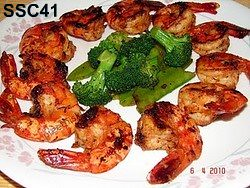 SSC41- Stir fried shrimp