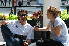 DSC00889 - Dario Franchitti, Fan 590 interview