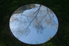 20100711_7293 Meniscii by Julia Davis (williewonker) Tags: circle mirror australia victoria round mansion werribee wyndham helenlempriere werribeepark juliadavis meniscii helenlemprierenationalsculpturalaward nationalsculpturalaward
