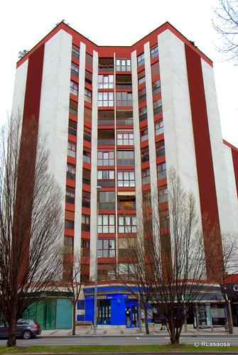 Edificio de viviendas en la Avenida de Pío XII