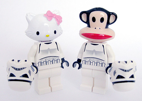 Custom minifig Troopers Charmmy and Julius