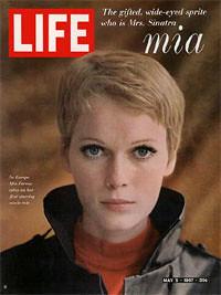 Mia Farrow en la revista Life