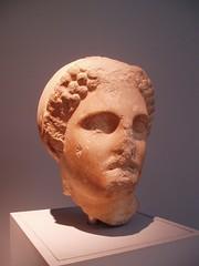 Woman's Head (Aidan McRae Thomson) Tags: sculpture london ancient mausoleum classical britishmuseum antiquity artemisia halicarnassus mausolus caria sevenancientwonders
