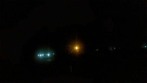ちょいガスってきた。23km 地点くらい。 #osjontake100