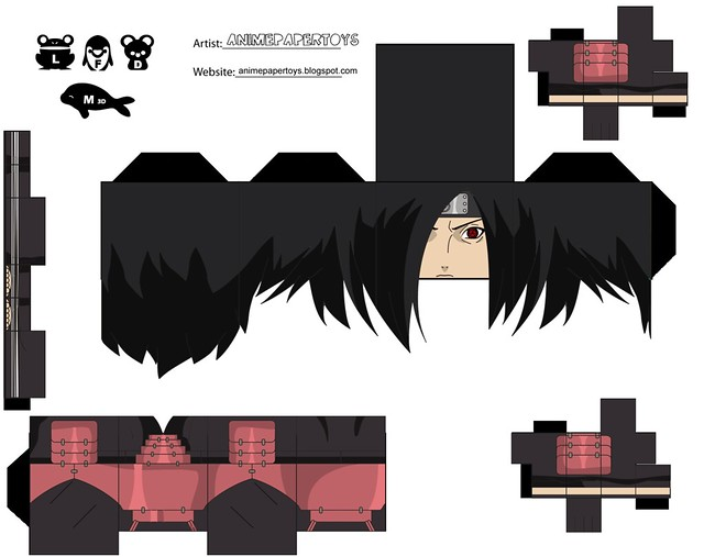Paper Toys de Naruto Megapost Im225genes en Taringa