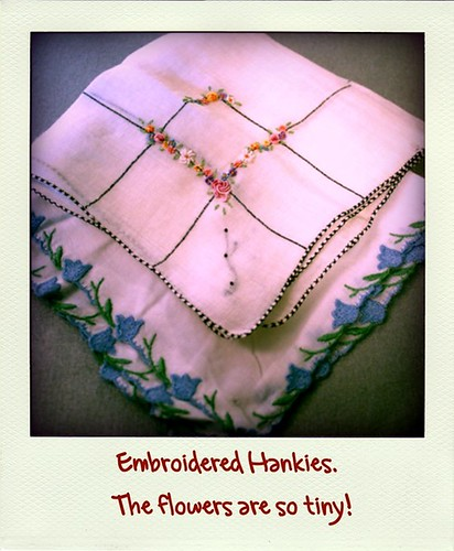 Embroidered Hankies roid