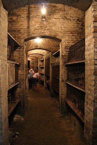The Catacombs under Brompton Cemetery