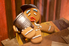 drunk Gingy (WetCraft) Tags: park man studio singapore colorful asia shrek gingerbread ticket theme fiona rollercoaster universal gingy