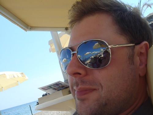 Johan på stranden