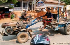 Nepal Tractor (charles lovely) Tags: park nepal camp mountain mountains tourism trekking trek highway asia district tourist medical national kathmandu himalayan ngo fund himalya freindship langtang rasuwa charleslovely themountainfund chucklovely mountainfundorg thambuchet