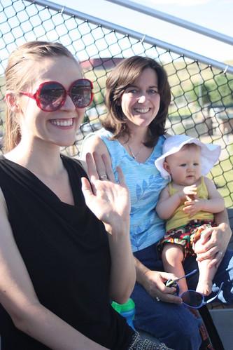 Mom, Cordelia and I