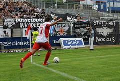 Denis Berger - Ecke! (Batram) Tags: berg fussball stadium soccer thessaloniki stadion offenbach paok ofc kickers saloniki geil θεσσαλονίκη bieberer παοκ