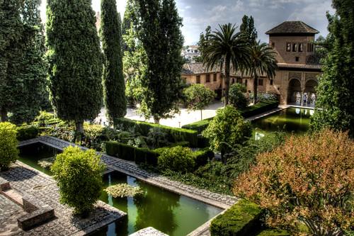 partal gardens alhambra granada jardines del partal - Jardin De L Alhambra