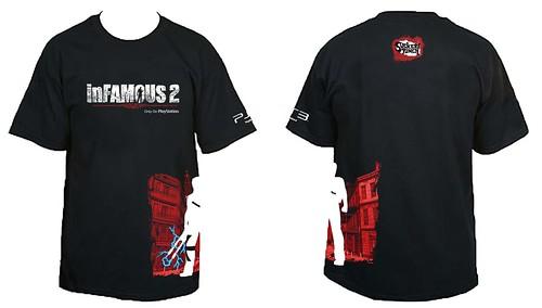 inFamous 2 Comic-Con Shirt