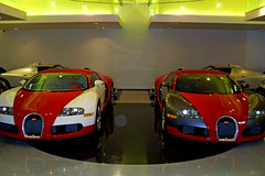 Pair of Bugatti Veyrons (SupercarPhotography) Tags: bugatti mc12 maserati veyron