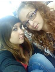 mi amiga y yo