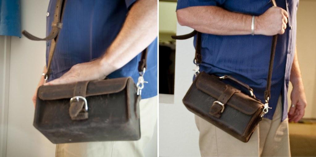 Saddleback Leather Travel Case Perspective