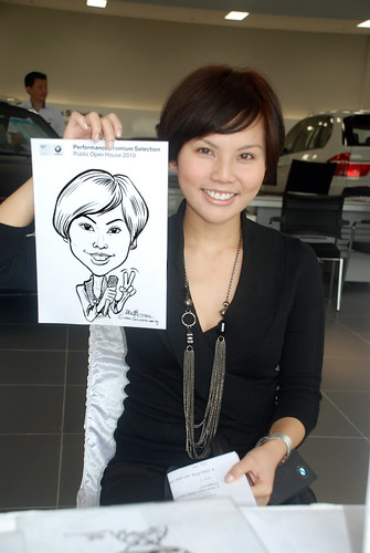 Caricature live sketching for Performance Premium Selection BMW - Day 3 - 12