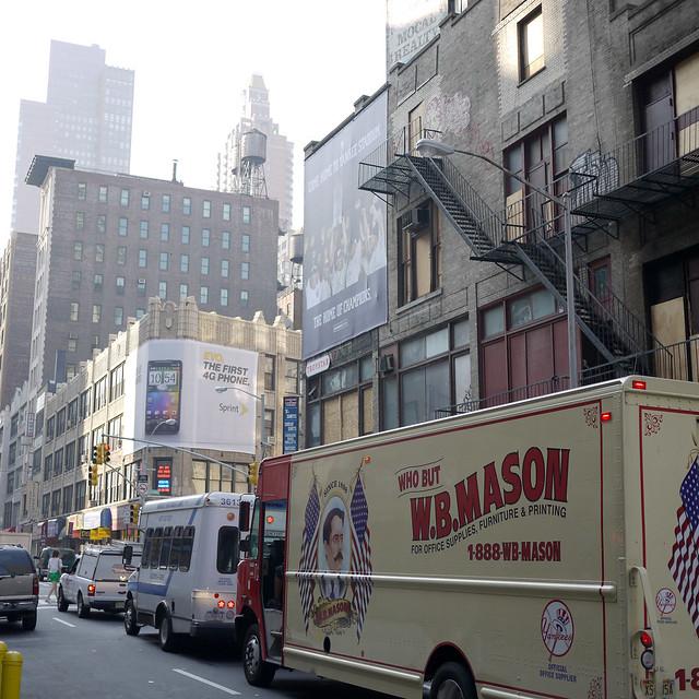 Corner of 30th st & Broadway (I think) #walkingtoworktoday
