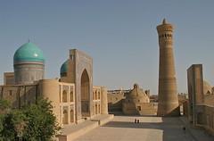 Bukhara (**El-Len**) Tags: brick architecture arch fav50 minaret mosque unesco explore dome silkroad uzbe