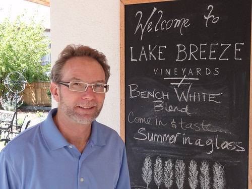 Gary Reynolds of Lake Breeze Winery