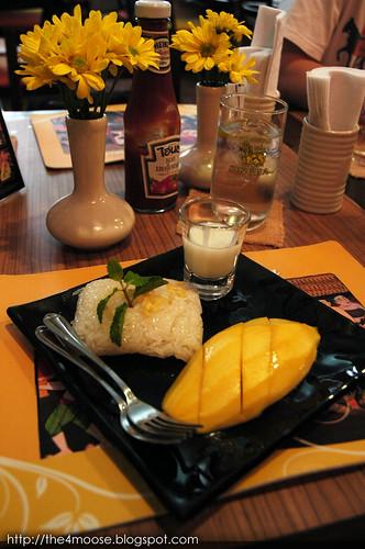 Silom Village - Mango Sticky Rice