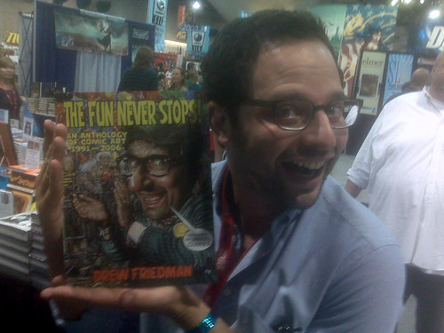 Nick Kroll loves Drew Friedman, Comic-Con 2010