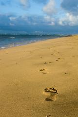 Ke'e Beach (nichole.pyle) Tags: ocean beach hawaii sand kauai footprint kee
