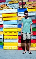 Hel (GoPlay!) Tags: boy summer men colours lego stripes sunny colourfull