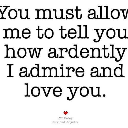 Admire and love you...