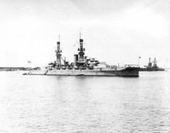 USS Oklahoma  BB-37 (San Diego Air & Space Museum Archives) Tags: history oklahoma military ships navy battleship naval uss bb37 sdasm ships01433