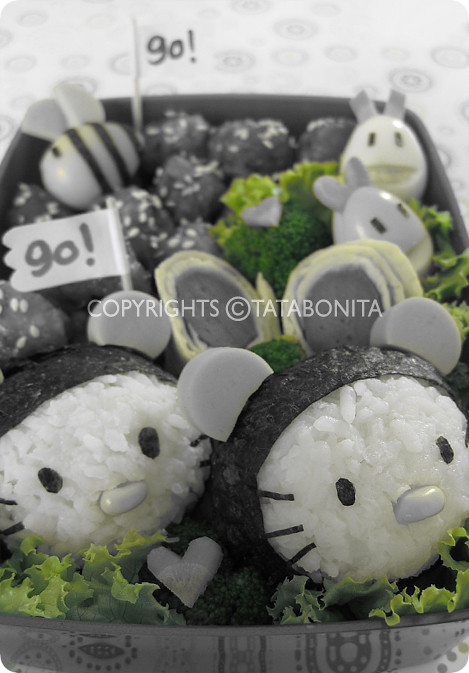 Go Go Kitty Bento 3