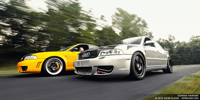 2001 yellow silver 2000 conversion german rig modified tuner audi s4 rs4 tuned webbbland notbland