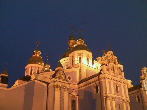 Saint Sophia's Cathedral, Kyiv, by night