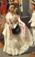 Veracruzana Doll Mexico (Teyacapan) Tags: costumes fashion mexico dolls map mexican veracruz dollcollection zuno jarocha