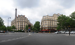 Champs De Mars (Steve Lindenman) Tags: paris france traffic eiffel champsdemars lindenman