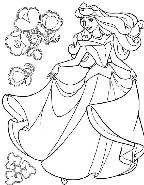 Dibujos De Las Princesas Disney Para Colorear Imagui