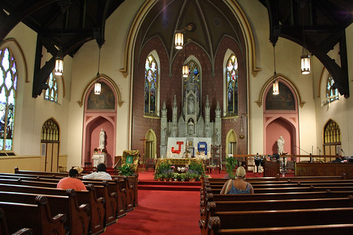 Interior of Visitation/St. Anne