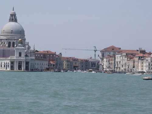 Venice - Arrival by boat - the Grand Canal