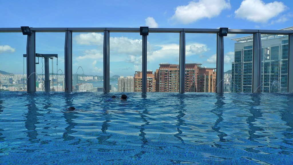 Getting Wet W Hong Kong Hotel Review